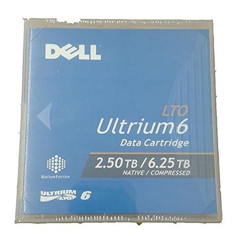 Dell LTO Ultrium 6Datenkassette 2,50TB Native