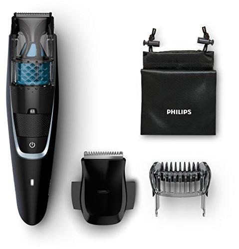 Philips Series 7000 Vakuum Bartschneider BT7205/15, schwarz