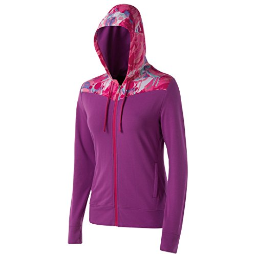 Asics WT2671 Damen Awareness Full Zip Hoody, Passion Blume-XS (Bewusstsein Kapuzen-sweatshirt)