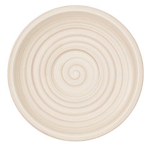 Villeroy & Boch Artesano Nature Soucoupe Tasse à café, 16 cm, Premium Porcelaine, Beige