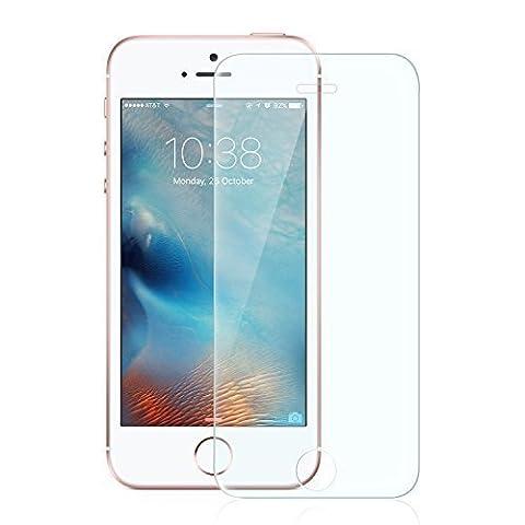 Anker Glas Schutzfolie für Apple iPhone SE / iPhone 5S