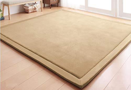 SESO UK Color sólido Alfombra lana gruesa Alfombra