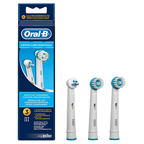 Oral-B Ortho Care - 3 Cabezales de Recambio