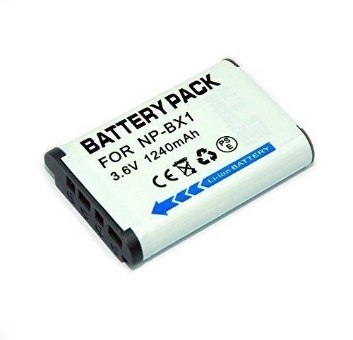 Remplacement NP BX1 1240mah batería Sony DSC WX300
