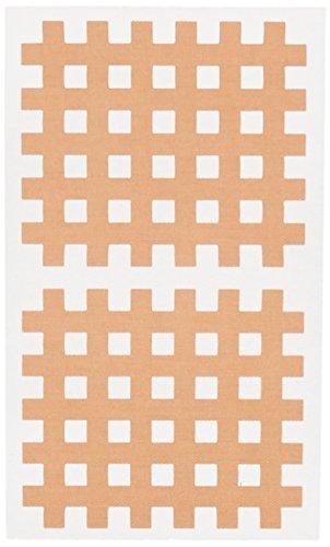 Gatapex Akupunktur Pflaster in Gitterform 40 Stück 44 x 52 mm Hautfarbe