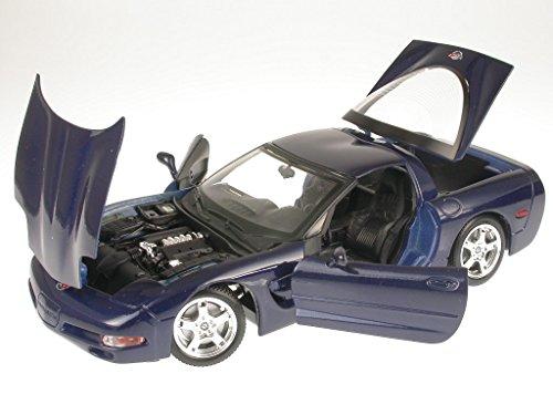 Preisvergleich Produktbild Chevrolet Corvette C5 blau Modellauto 18-12038 Bburago 1:18