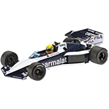 Minichamps Modelo de Coche 01:18 Brabham BMW BT52B Ayrton Senna - Car Test Paul