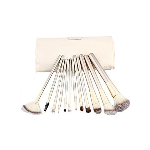 Sili Persischen Haar Champagner Holzgriff Makeup & # x3001, Makeup Werkzeug & # x3001, makeupbrush und Werkzeug-Kit für Make-up