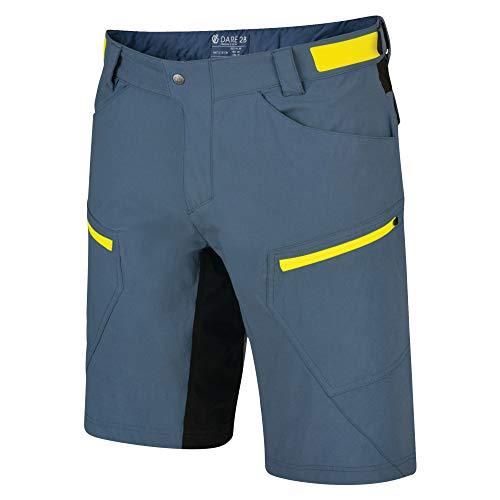 Dare 2b Herren Renew Water Repellent Quick Drying Multi Pocket Short, Meteor Grey, 34-Inch - Multi Pocket Shorts
