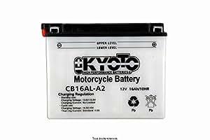 Batterie Moto KYOTO Yb16al-a2 L 205mm W 71mm H 164mm 12v 16ah Acide 1,0l