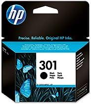 HP 301 CH561EE, Cartucho Original de Tinta Negro , compatible con impresoras de inyección de tinta HP DeskJet