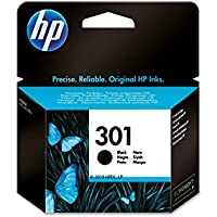 HP 301 CH561EE, Cartucho Original de Tinta Negro , compatible con impresoras de inyección de tinta HP DeskJet 1050, 2540,3050; OfficeJet 2620, 4630; ENVY 4500, 5530