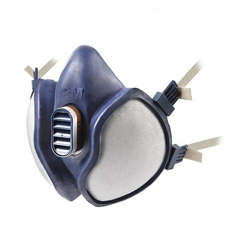 3M 4251 Maintenance Free Reusable Half Mask FFA1P2RD, Single Respirator