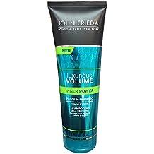 John Frieda Luxurious Volume Inner Power Protein-Shampoo 250 ml Protein-Shampoo zur Kräftigung von feinem Haar