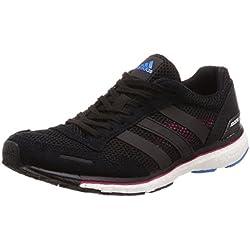adidas Adizero Adios 3 w, Zapatillas de Running para Mujer, Negro (Negbás/Magrea/Azubri 0), 40 EU
