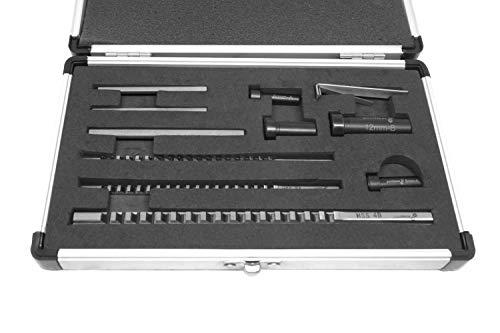 PAULIMOT HSS-Räumnadel-Set für 2, 3 und 4 mm Keilnuten