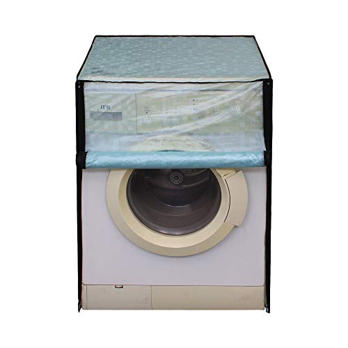 Lithara Plastic Washing Machine Cover for 5.5Kg-6.5Kg Front Load Washing...