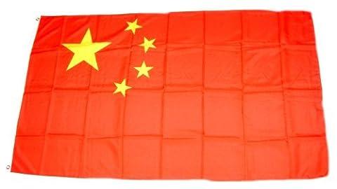 MM China Flagge/Fahne, wetterfest, mehrfarbig, 150 x 90 x 1 cm, 16300
