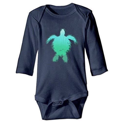 WBinHua Bodys et Combinaisons, Sea Turtle Baby Toddler Long Sleeve Onesies Bodysuits