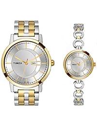 Timex Analog Silver Dial Unisex's Watch-TW00PR230