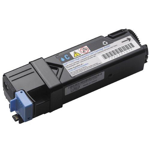 Preisvergleich Produktbild Dell KU051 Toner für 1320C HC 59310259, 2000 Seiten, hohe Kapazität, cyan