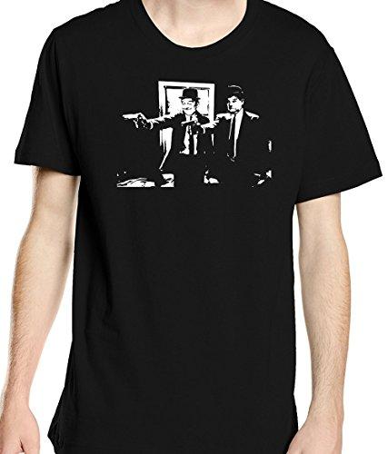 Renowned Herren T-Shirt Schwarz