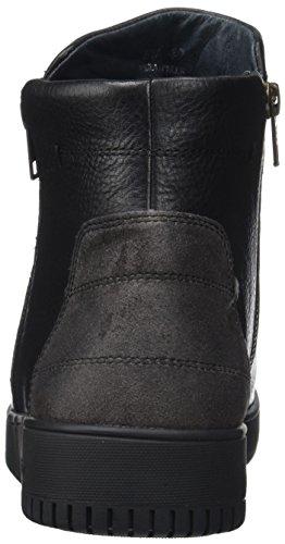 Stonefly Herren Dover 9 Tumbled Calf Chelsea Boots Schwarz (Nero/black)