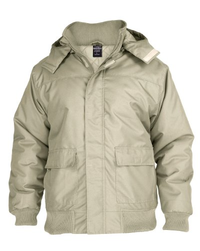 Hooded Winter Jacket Sand