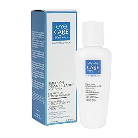 Eye Care Cosmetics Eye Make-Up Remover Emulsion 125ml Milk Base