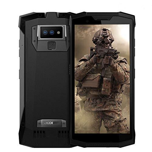DOOGEE S80 - Walkie-Talkie professionale Smartphonecon batteria 10080mAh, IP68 / IP69K Impermeabile/Antiurto / Antipolvere Android 8.1 5,99 6GB + 64GB,Black