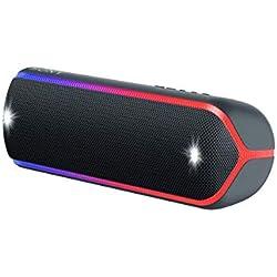Sony SRS-XB32 Enceinte Portable Bluetooth Extra Bass Waterproof avec Lumières - Noir