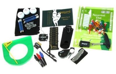 Boyz Toys - Set di accessori per il golf (strumenti, palline, putting cup, tee, ecc.)