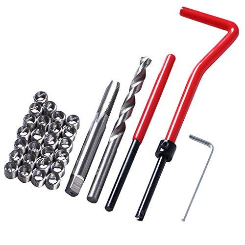 Preisvergleich Produktbild MA87 30x metrisches Gewindereparatur-Einsatz-Kit M5 M6 M8 Car Pro Coil Tool