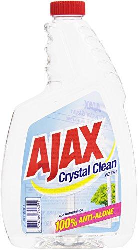 Ajax - Detersivo per Vetri, con Ammoniaca, 100% anti-alone -  750 ml