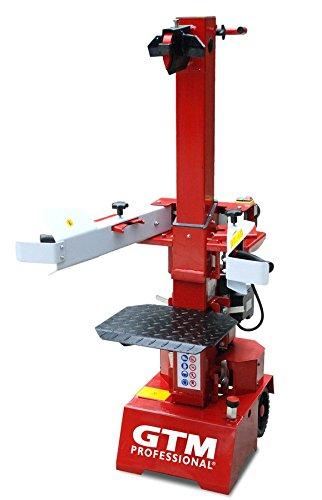 GTM Holzspalter GTL7000 mit 3kW/230V Elektromotor, verarbeitet Holz bis 104 cm Länge und 32 cm Durchmesser