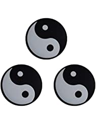 3 Yin Yang Tennis Emoji Antivibrateurs