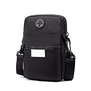 BovoYa Herren Handytasche Multifunktions Mini Umhängetasche Outdoor-Sporttasche Kleine Handy Hüfttaschen Gürteltasche 18…