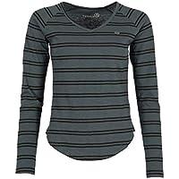 Ternua ® Camiseta Kandy LS T-Shirt W Mujer, Mousse Grey, S