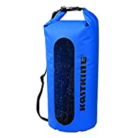 KastKing Waterproof Dry Bag for Boating, Rafting, Kayak, Fishing, Canoeing, Skiing, Snowboarding, Swimming,Surfing and Camping Trips and ANY Sports & Outdoors Activities - Tough Durable 100% Waterproof Roll Top Dry Bag