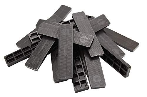 1000 Verglasungsklötze 100x24x6 cm schwarz