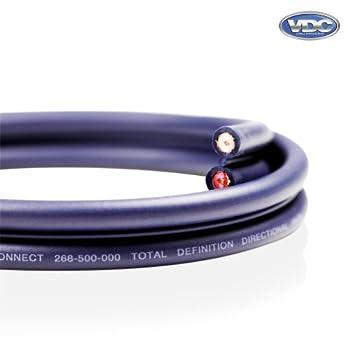 Van Damme Shotgun Audio Twin Interconnect Speaker Cable (Total Definition Directional HI-FI) 268-500-000 50 Metre / 50M