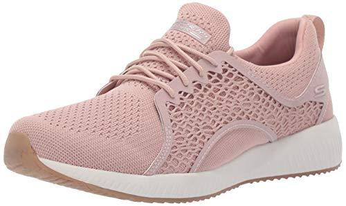 Skechers Damen Bobs Squad - Pocket Ace Sneaker, Pink Blush, 39 EU - Bob Sneaker Skechers Frauen