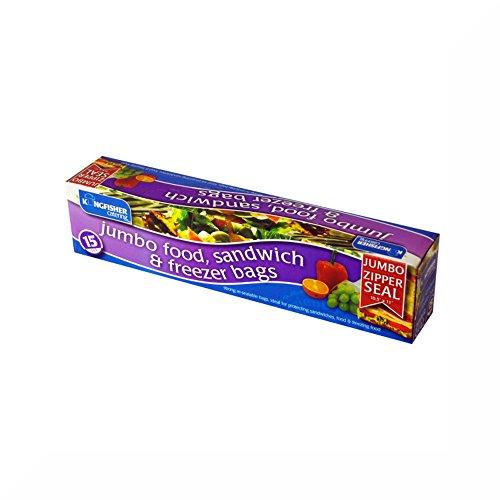 2-x-kingfisher-confezione-da-15-jumbo-richiudibile-di-plastica-per-alimenti