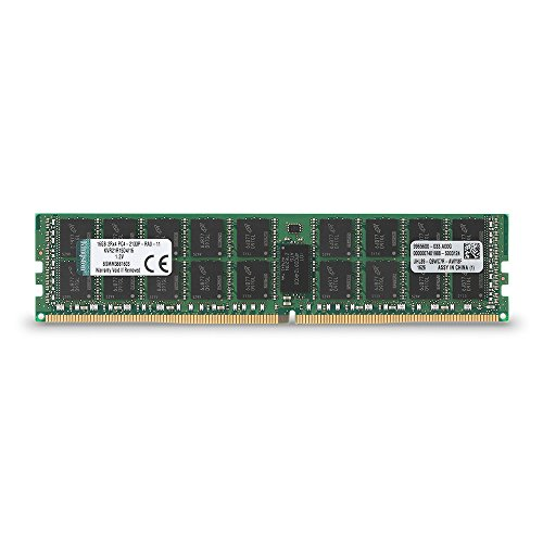 Price comparison product image Kingston Technology KVR21R15D4/16 RAM 16 GB 2133 MHz DDR4 ECC Registered CL15 DIMM 288-Pin