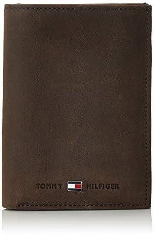 Tommy Hilfiger JOHNSON N/S WALLET W/COIN POCKET AM0AM00664 Herren Geldbörsen 14x10x2 cm (B x H x T), Braun (Brown 041)