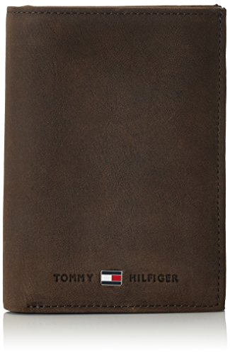 Tommy Hilfiger JOHNSON N/S WALLET W/COIN POCKET AM0AM00664 Herren Geldbörsen 14x10x2 cm (B x H x T), Braun (Brown 041) (Pocket Wallet Coin)