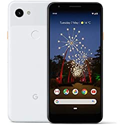 Google Pixel 3A 64 GB Smartphone Android 9.0 (3 A, Clearly White)