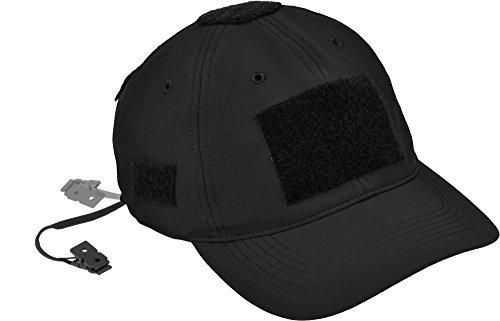 Hazard 4 Kappe Smart Skin PMC Cap, Schwarz, -, APR-PMCWB-BLK (Hut Polizei Clip)