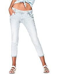 Salsa - Jeans Relax Fit Rayures - Femme