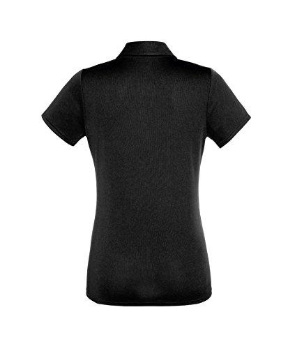 Camicia Polo Donna Performance Polo Shirt Lady-Fit Poloshirt Black